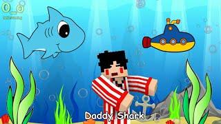 download lagu Baby Shark - 4 Brother Version  Minecraft Animation gratis
