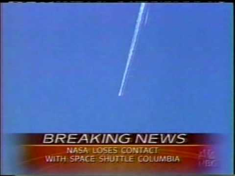 NBC News  Coverage of STS-107 Part 25 (The Columbia Disaster...
