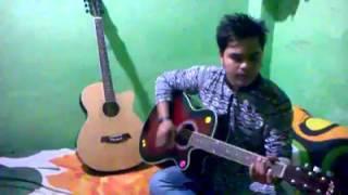 o mor romjaner oi rojar seshe elo khushir eid guitar and vocal cover