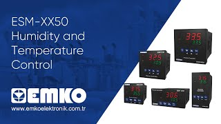 Emko Elektronik ESM-XX50 Humidity and Temperature Control