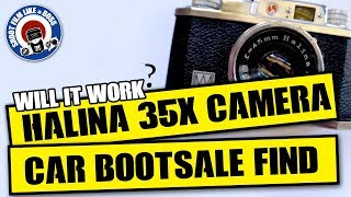 FILM PHOTOGRAPHY - HALINA 35X CAMERA - JUNK FIND