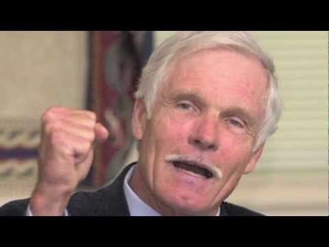Ted the Terrible - Malthusian Ted Turner - Anthony J Hilder