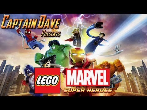 LEGO Marvel Super Heroes - Walkthrough Part 1: Sand Central Station