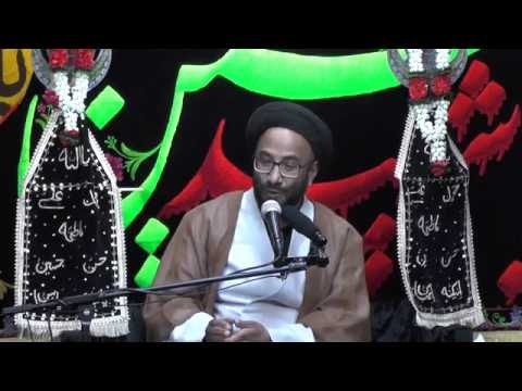 Majlis-Night Of 3rd Muharram 1438 By Maulana Syed Moosa Raza Naqvi In Darbar-e-Masumeen.
