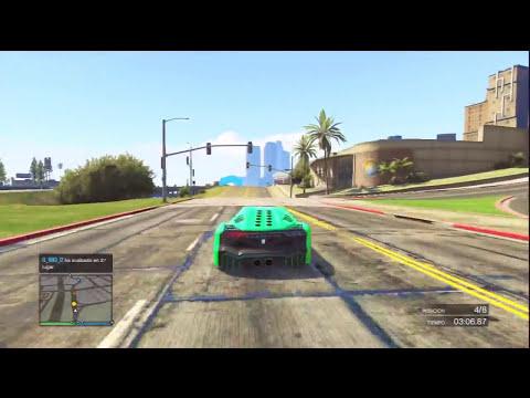 SÚPER DIFICIL!! SALTO ÉPICO!! - Gameplay GTA 5 Online Funny Moments