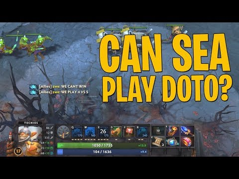 Can SEA Play DotO? - DotA 2 Techies Full Match