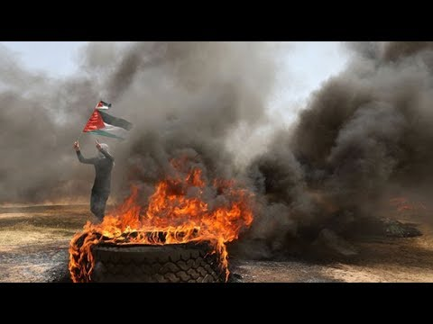 Deadly clashes on Gaza border erupt from Palestinian protest