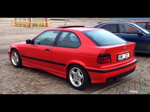 bmw e36 compact 316i m pack 1995 youtube. Black Bedroom Furniture Sets. Home Design Ideas