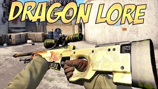 AWP | DRAGON LORE ON SKINARENA