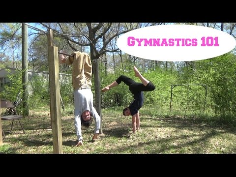 Hand Balancing, Bar Skills, And Acrobatics! | Self-Taught Gymnastics | Gymnastics 101