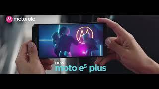 Moto e5 plus | Big battery | Big screen | Big entertainment