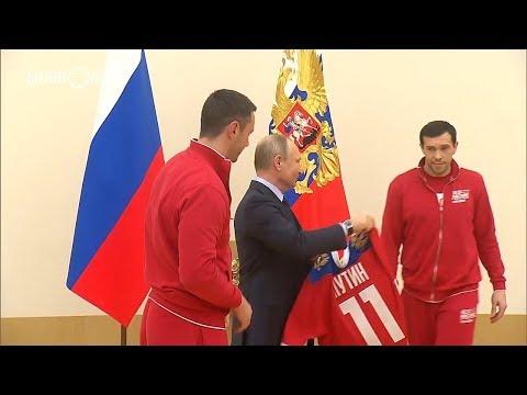 Павел Дацюк – Путину: «Вы – капитан России»