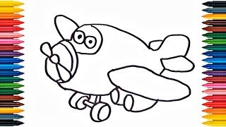 How to Draw Children's helicopter toy - Video for Kids