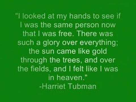 Harriet Tubman and the...