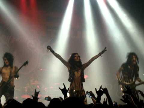 All Your Hate - Black Veil Brides - AP Tour 2011 Montreal 04/12/2011 - Live @ Club Soda