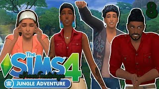 The Sims 4 JUNGLE ADVENTURE//Becoming a true local