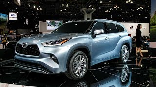 2020 Toyota Highlander Hybrid Suv Launch