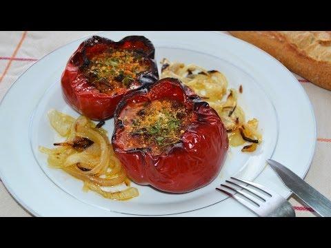 Pimientos Rellenos de Carne Picada | Recetas de Cocina