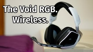 Corsair VOID RGB Wireless Headset Review [White]