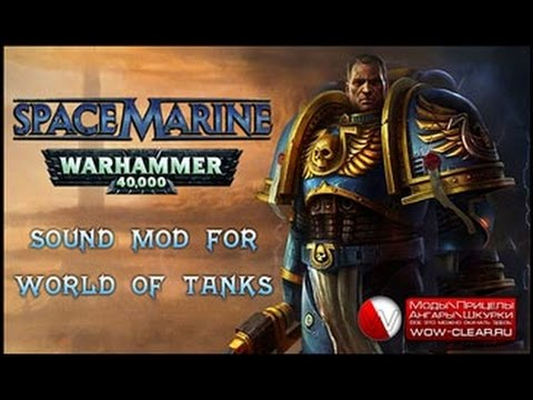 Russian voice acting crew of the replica Space Marine Warhammer 40000