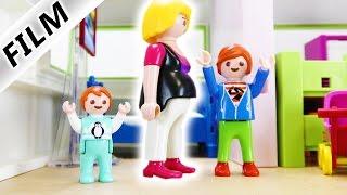 Playmobil Film Deutsch - MAMA IST SCHWANGER!? JULIAN UND EMMA STREITEN UM ZIMMER! Familie Vogel