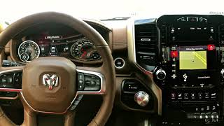 12 Inch Uconnect Touchscreen on the 2019 RAM 1500