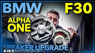 F30 BMW BimmerTech Alpha One Premium Speaker Upgrade Installation Guide (F15, F10, F80 and More!)