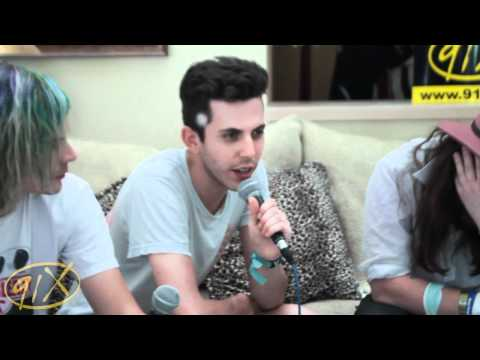 91x :: Coachella 2012 :: Grouplove Interview video
