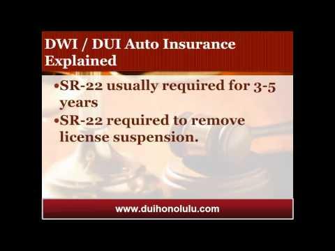 Honolulu DUI Attorney Shares Insights on DUI Auto Insurance