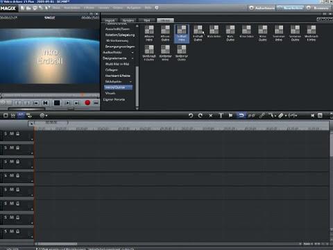 MAGIX Movie Edit Pro Tutorial - Intro effects