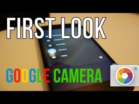 New Google Camera App: First Look