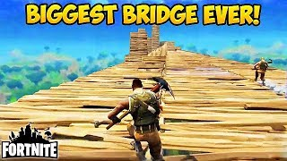 BIGGEST SKY BRIDGE EVER! - Fortnite Funny Fails and WTF Moments! #37 (Daily Best Moments)