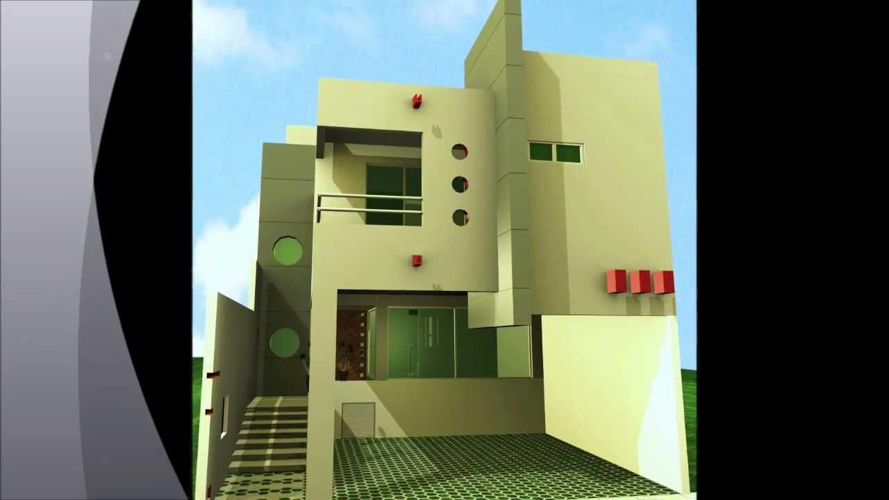 Fachadas casas modernas youtube for Casas contemporaneas modernas