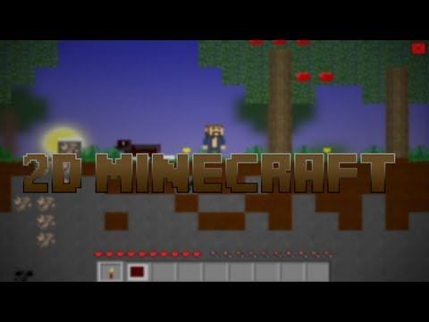 2D Minecraft Browser Game - Video Search Engine