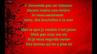 Faire des Ricochets - Paris Africa - Paroles (lyrics)