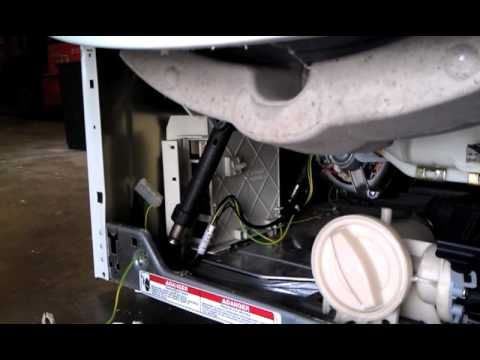 How to Remove a Motor Control Unit (MCU) From Whirlpool Duet. Kenmore HE3. KitchenAid. & Maytag