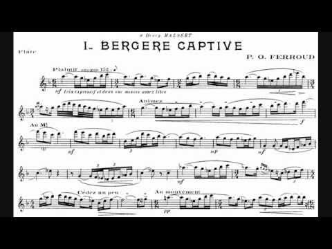 Pierre-Octave Ferroud - Trois Pièces pour flûte seule (1920-21) [Robert Aitken]