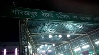 Beautiful Gorakhpur Station. UP