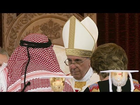 Pope starts Holy Land visit with Syria peace appeal