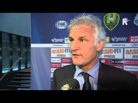Fred Rutten na afloop van ADO Den Haag - Feyenoord