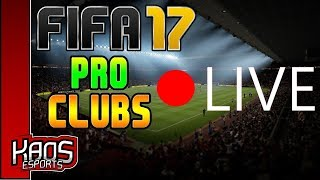 Fifa 17 Pro Clubs Live, Road to Division 1