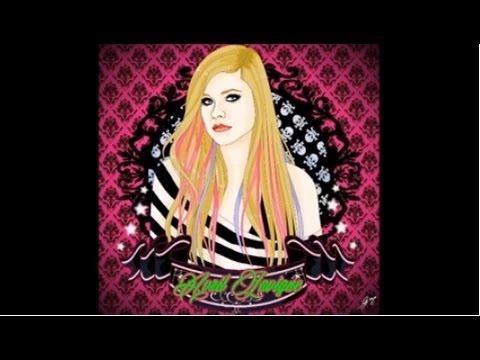 Desenhando Avril Lavigne {Guinha}