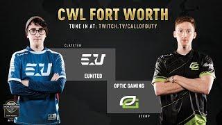 eUnited vs Optic Gaming | CWL Fort Worth 2019 | Day 1