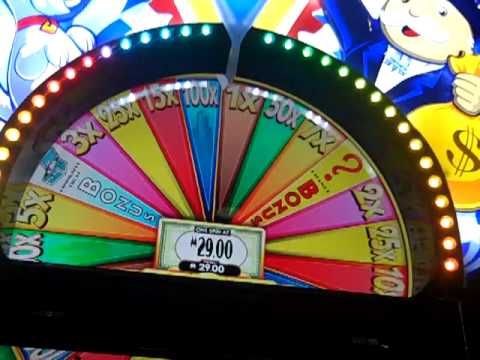Super Monopoly money slot bonus WHEEL