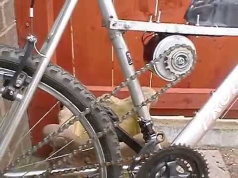 Bikes With Motors For Cheap DIY cheap electric bike using
