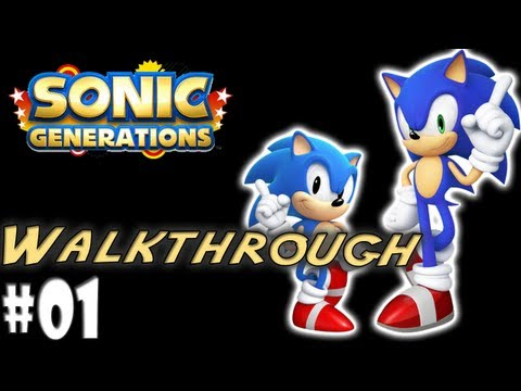 Sonic Generations Playthrough - Ep #1 Green Hill Zone