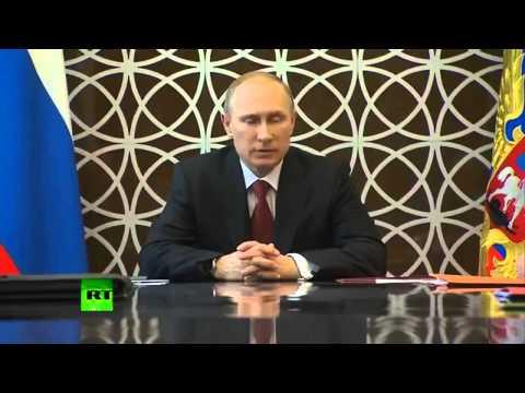 Путин Кризис на Украине это не вина России  Евромайдан