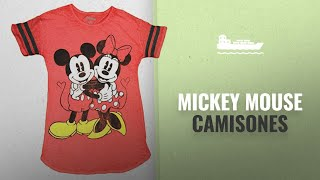 10 Mejores Mickey Mouse Camisones 2018: Mickey & Minnie Mouse Vintage Style Women's Night Sleep