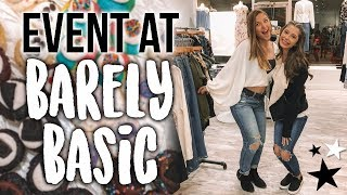 Day In My Life: SHOPPING WITH FRIENDS & EVENT AT BARELY BASIC!!