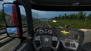 ETS2 Mercedes-Benz Actros Logitech Driving Forge GT